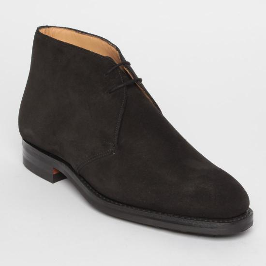 Suede Chukka Boots 1056529: Black
