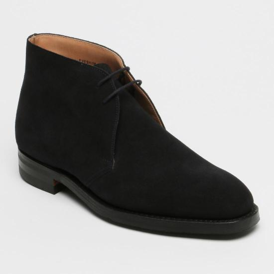 Suede Chukka Boots 1056529: Navy