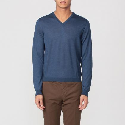 Drumohr Cashmere Silk Sweater