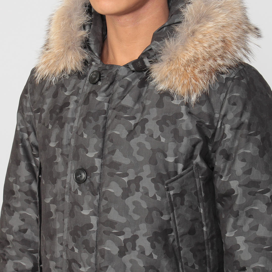 Barneys New York Arctic Parka 1170654: Grey