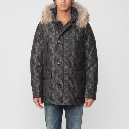 Barneys New York Arctic Parka 1170654: Grey