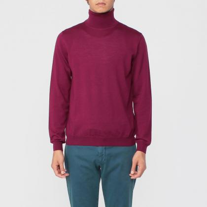 Zanone Fine Gauge Merino Turtleneck Sweater