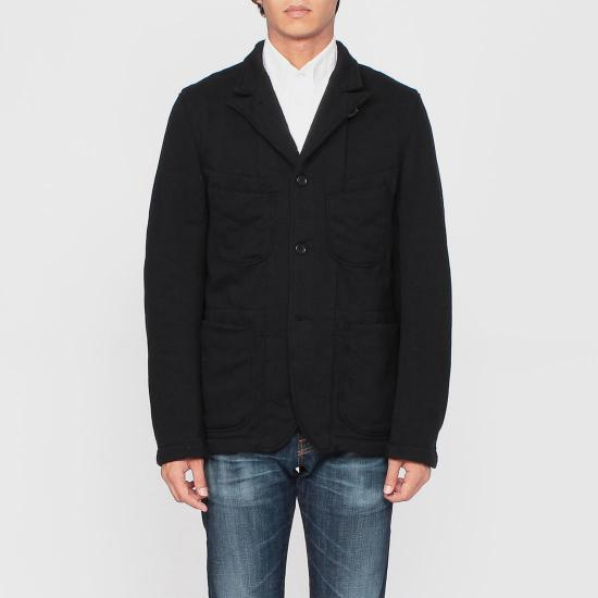 Sweat Bedford Jacket 1173204: Black