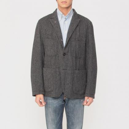 Engineered Garments Bedford Jacket Herringbone Wool