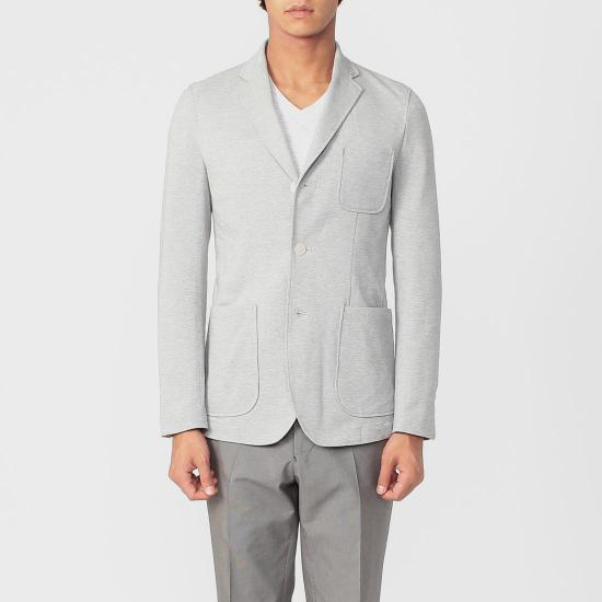 Coolmax Jacket 1177613: Light Grey