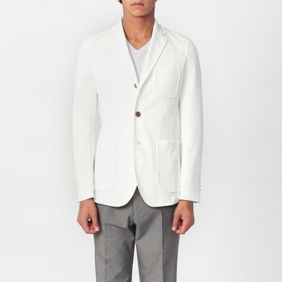 Coolmax Jacket 1177613: White