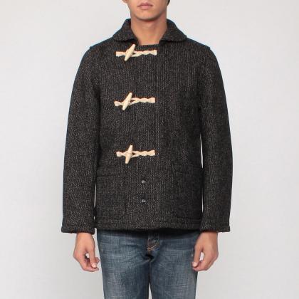 Brown's Beach Jacket Duffle Coat 7524: Navy