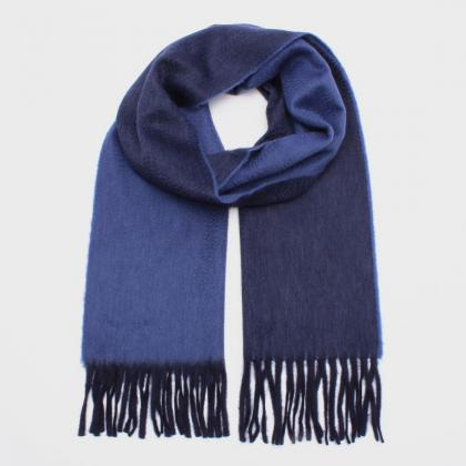 Alex Begg Reversible Cashmere Scarf