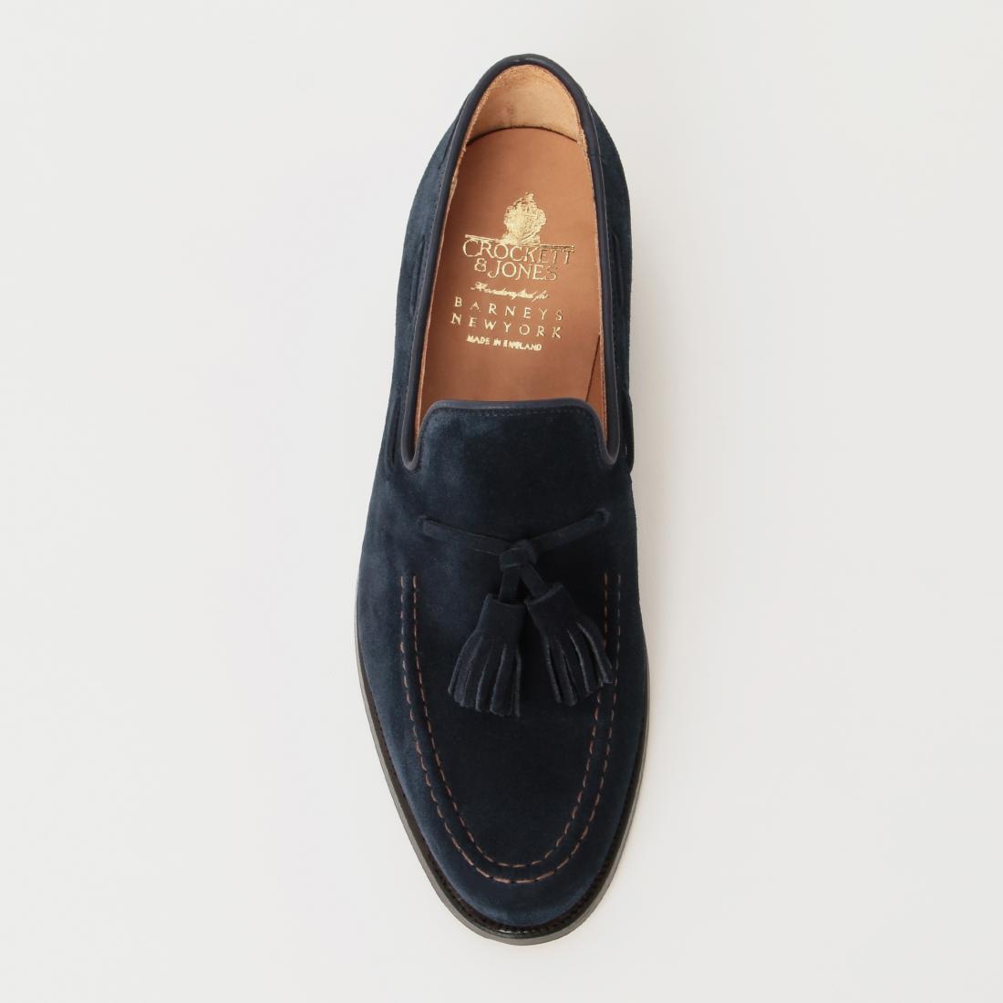 Tassel Loafer 1206736: Navy Suede