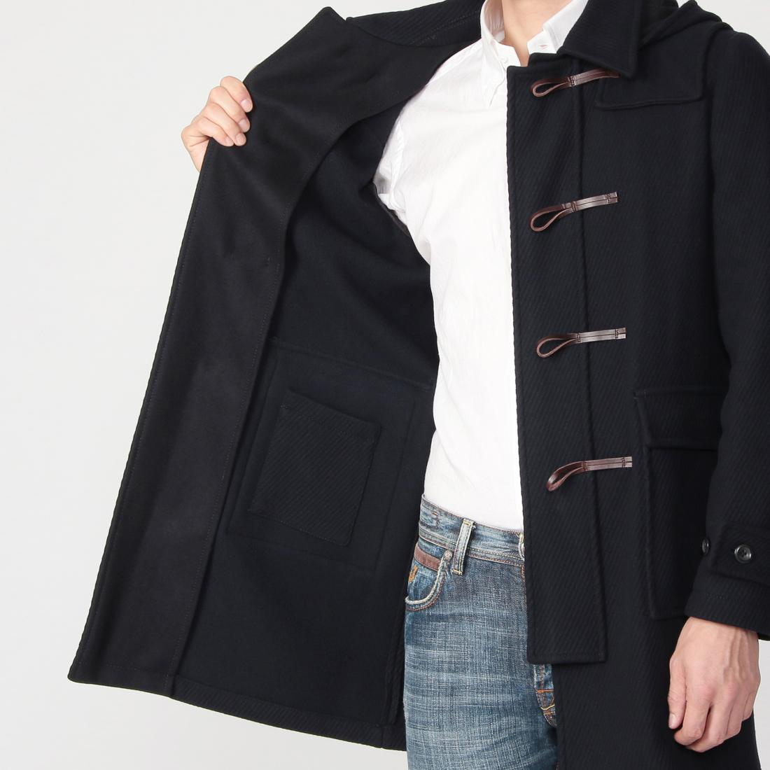 Hevo Duffle Coat: Navy