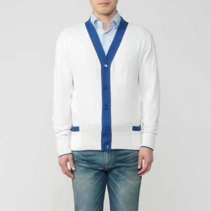 Letroyes Cotton V-neck Cardigan 1212024