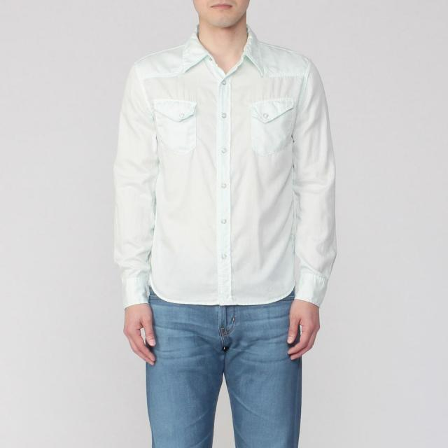 Remi Relief Cotton Silk Western Shirt 1212961