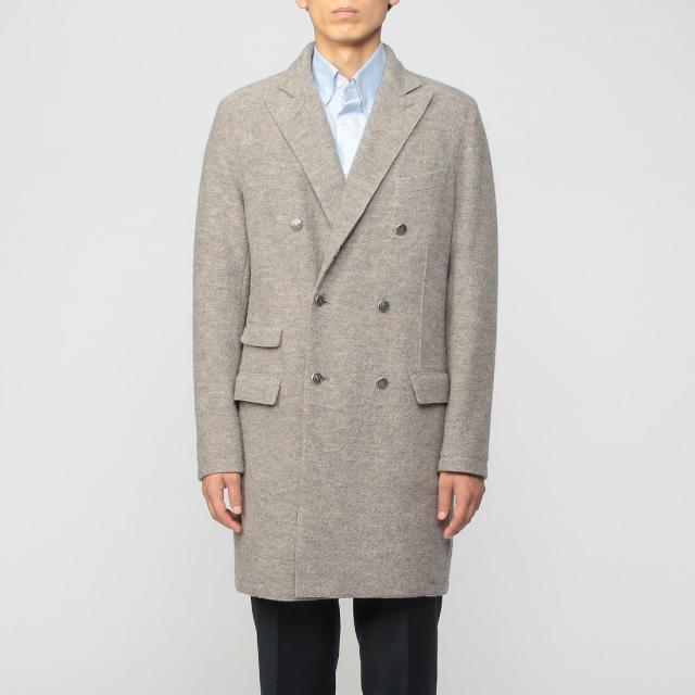 Eleventy Double Breasted Coat 1216369