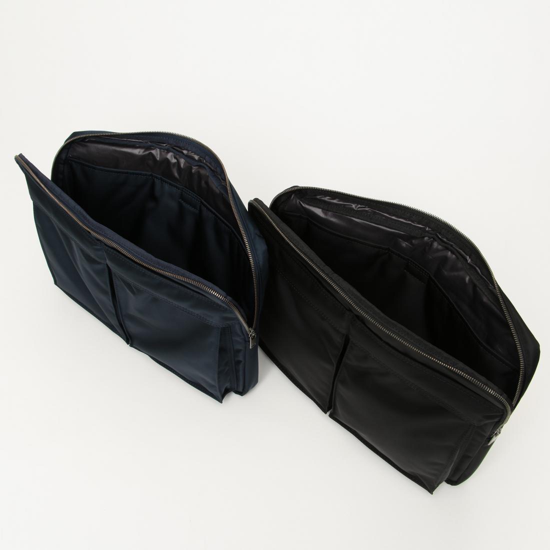 Porter Clutch Bag 1216901: Navy, Black