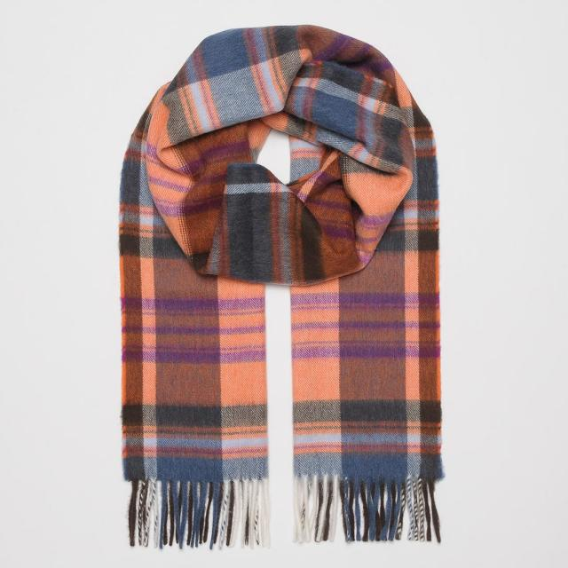 Seaward & Stearn Wool Angora Scarf