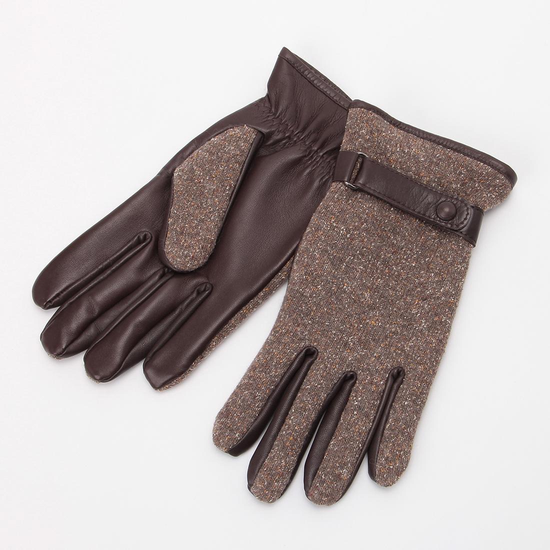 Wool Nappa: Brown