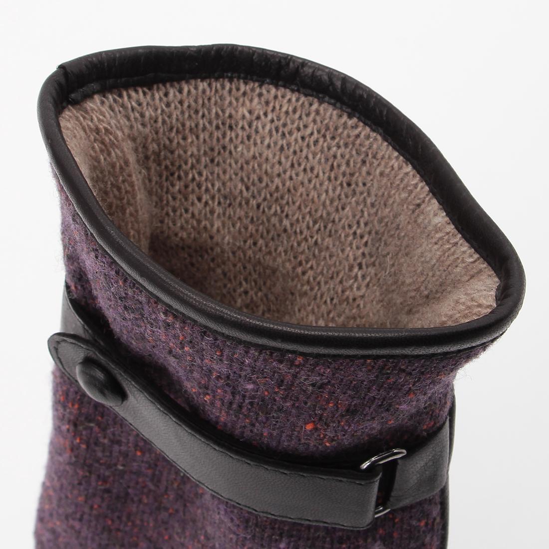 Wool Nappa: Purple