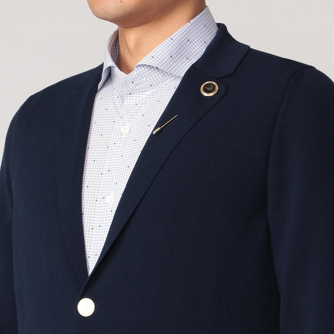 Cotton Cardigan 2007682: Navy