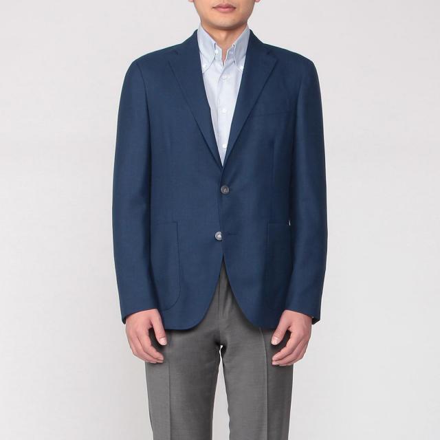 Dover Wool Hopsack: Blue