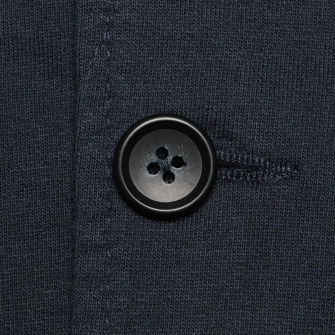 Engineered Garments Knit Jacket - French Terry FQ095: Dark Navy