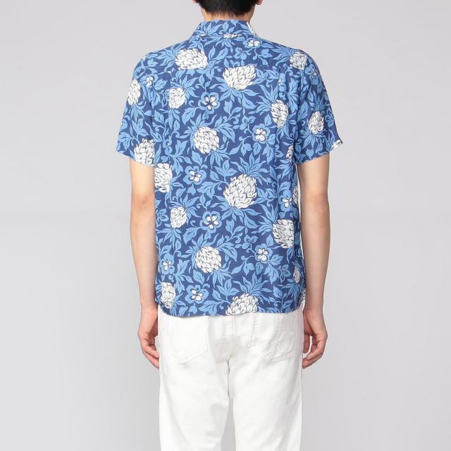 Remi Relief Aloha Shirt 2010822: Blue