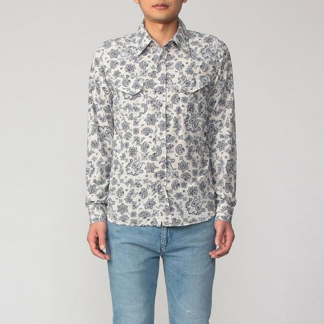 Remi Relief Paisley Western Shirt 2010823