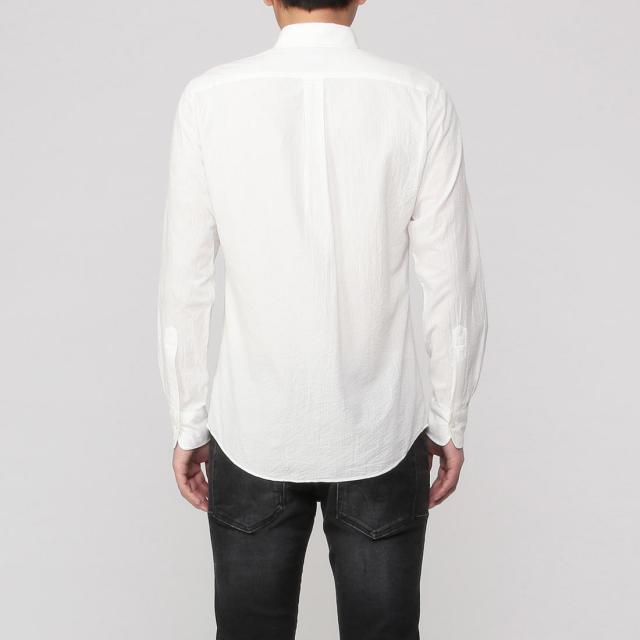 Seersucker Buttondown Shirt 2013565: White