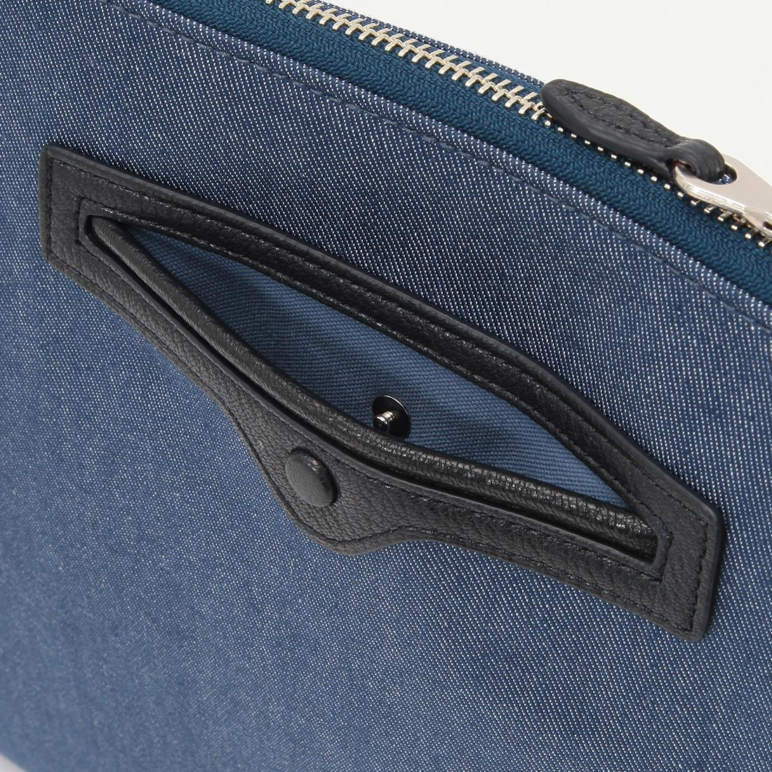 Galleriant Clutch Bag 2018965: Blue