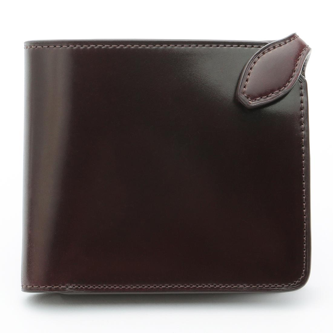 Galleriant Cordovan Wallet: Dark Brown
