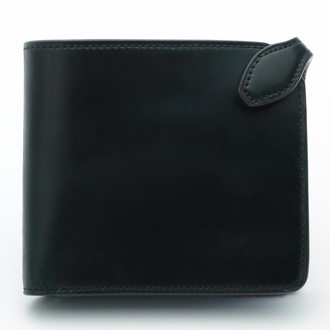 Galleriant Cordovan Wallet: Navy