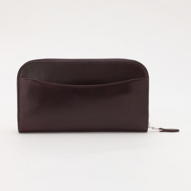 Galleriant Cordovan Round Zip Wallet